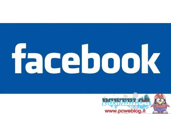 Facebook sar a pagamento for Facebook logo ufficiale