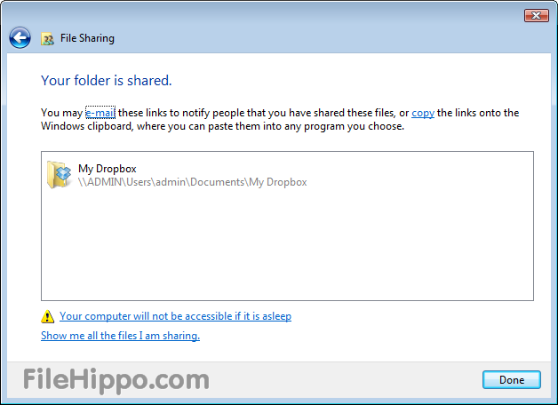 Dropbox download for pc windows 7