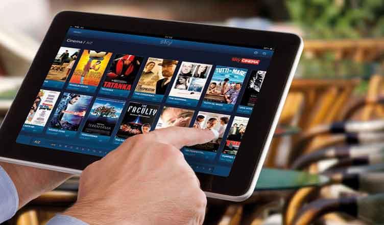 tablet con film