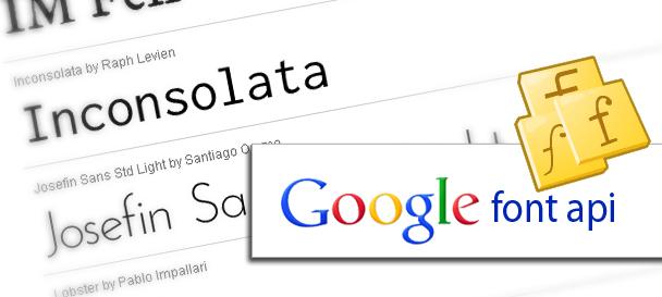 Google Font e download