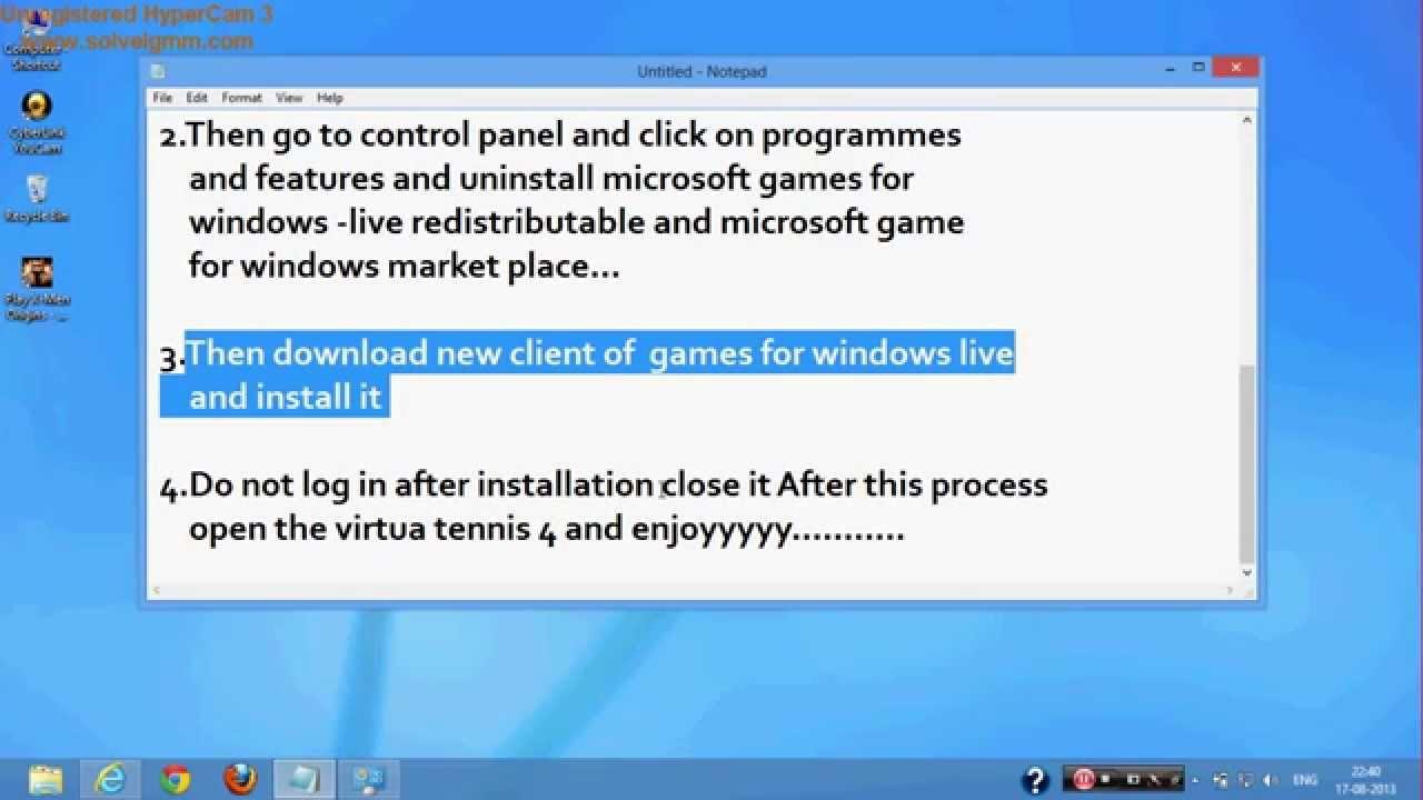 Come risolvere Game for Windows Live Error 0x800b0003