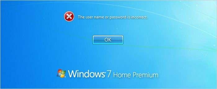 Come eliminare password Windows 7