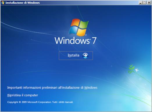 Come ripristinare Windows 7